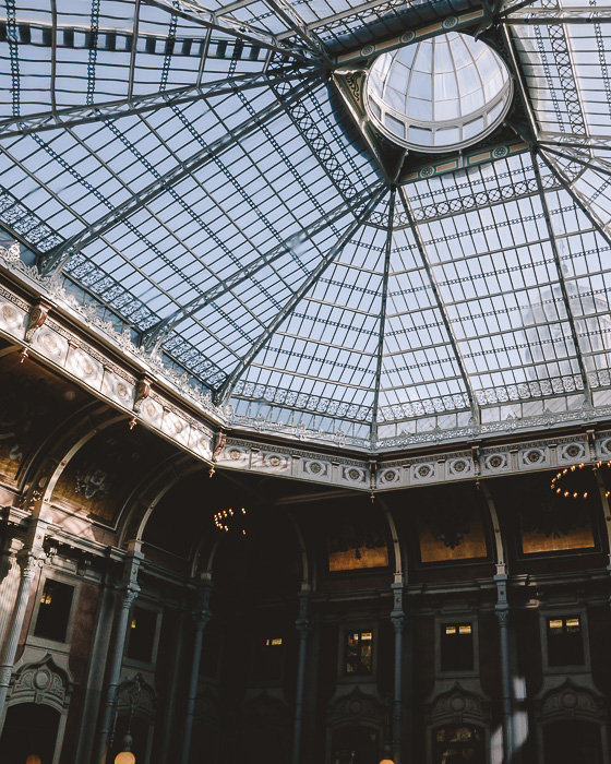 Main glassroof of Palacio da Bolsa by Dancing the Earth