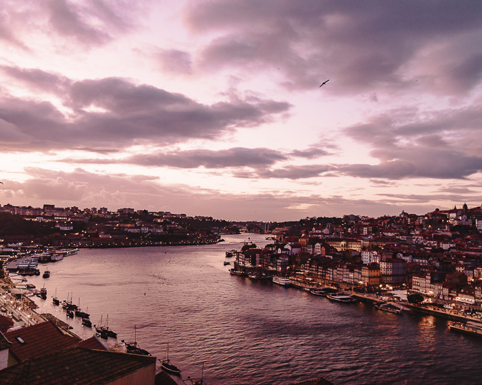 Sunset over Rio Douro by Dancing the Earth