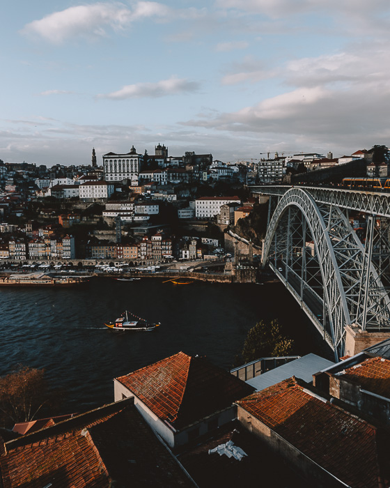 Porto weekend itinerary View of Porto from Teleferico de Gaia by Dancing the Earth