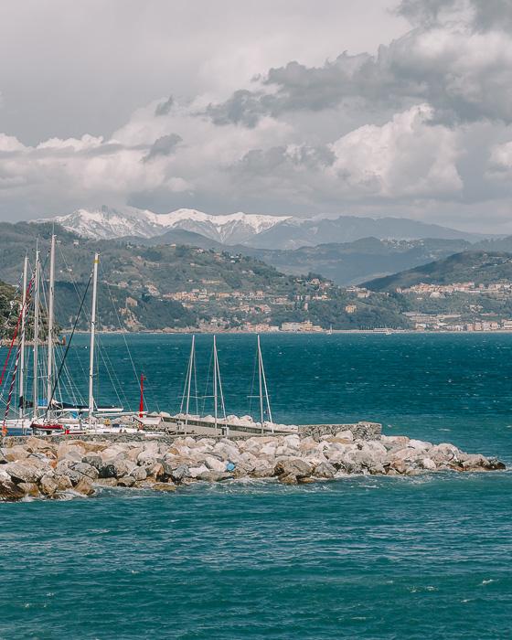 Porto Venere wharf
