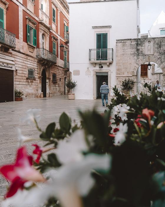 Main square of Locorotondo, Puglia travel guide by Dancing the Earth
