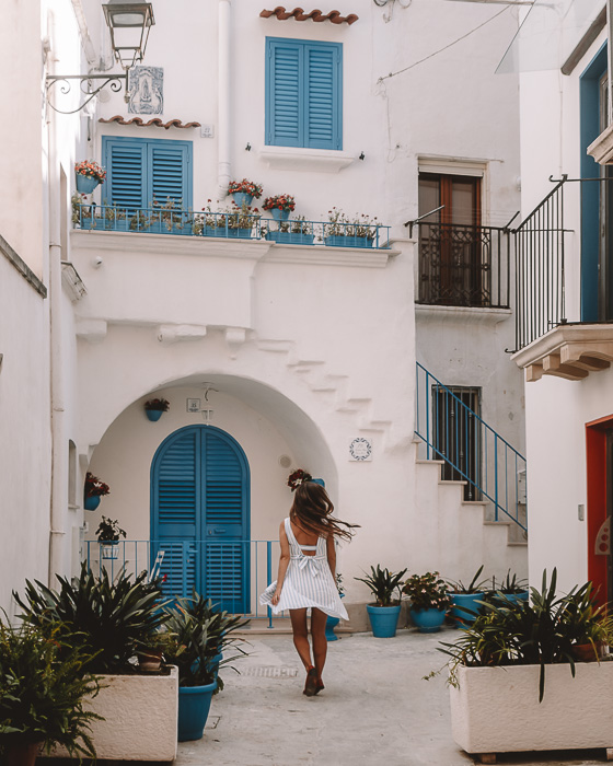 Twirling in Otranto, Puglia travel guide by Dancing the Earth