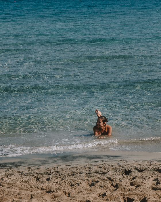swimming in Torre dell'Orso, Puglia travel guide by Dancing the Earth
