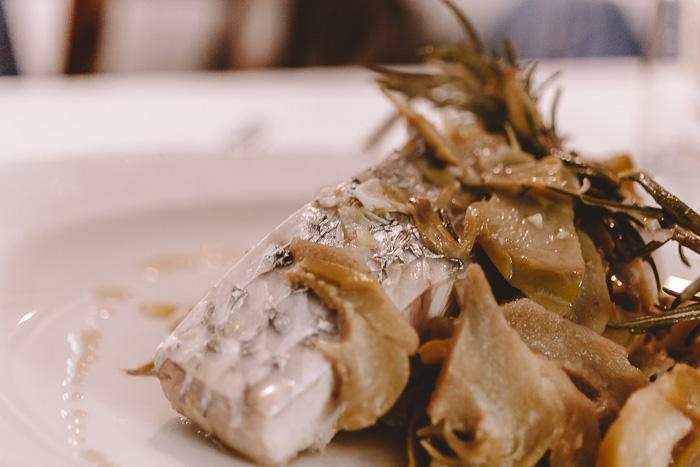 Fish of the day at Trattoria Osvaldo, Boccadasse