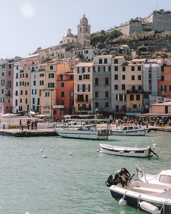 Porto Venere, Liguria and Cinque Terre travel guide by Dancing the Earth