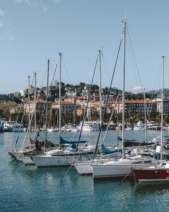 Sailing boats and Porto Venere, Liguria and Cinque Terre travel guide by Dancing the Earth
