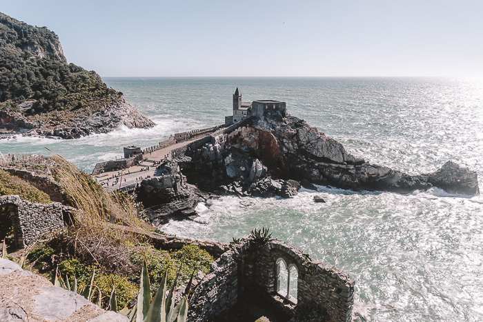Porto Venere, view from Castello Doria, Liguria and Cinque Terre travel guide by Dancing the Earth