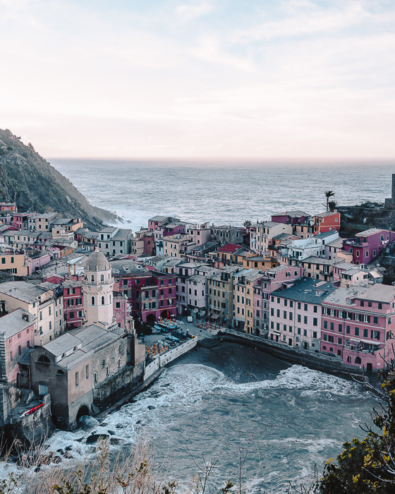 Vernazza wharf from above, Liguria and Cinque Terre travel guide by Dancing the Earth