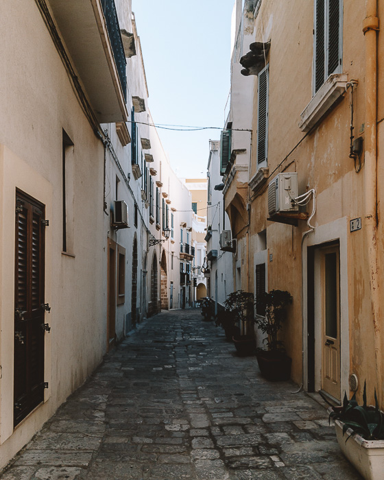 Backstreet of Gallipoli