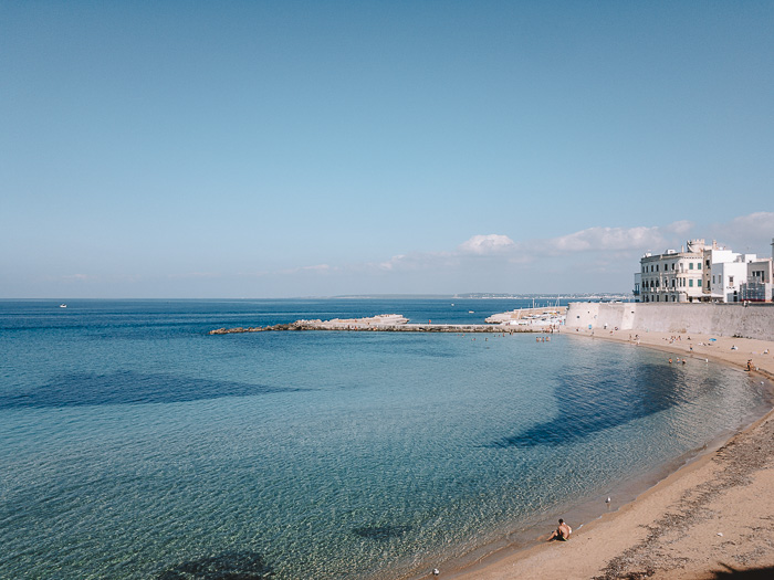 Beach of Gallipoli, Puglia travel guide by Dancing the Earth