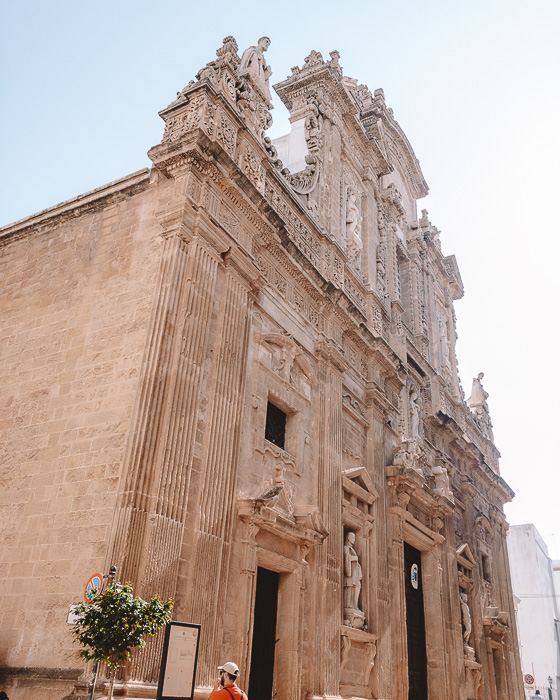 Gallipoli cathedral, Puglia travel guide by Dancing the Earth