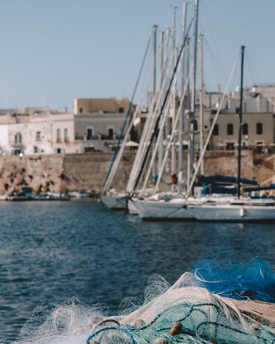 Fishing nets in Gallipoli