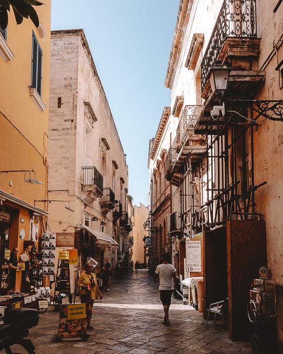 Main street in Gallipoli