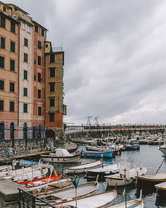 Camogli wharf