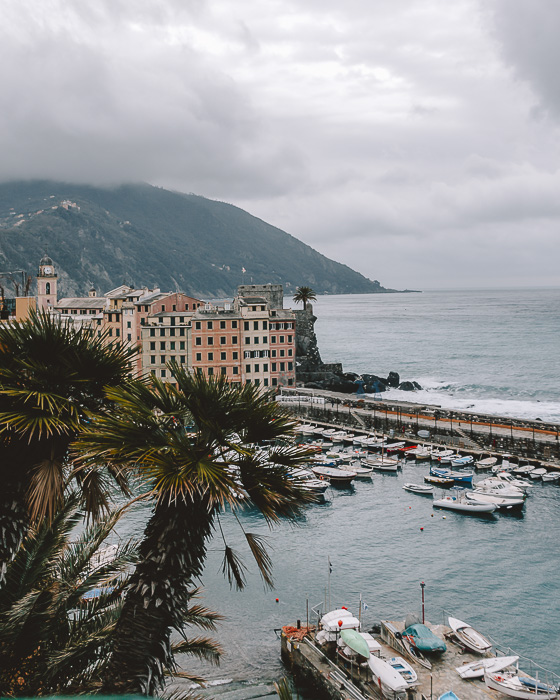 Camogli wharf from above, Liguria and Cinque Terre travel guide by Dancing the Earth