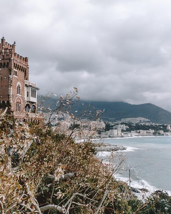 Castle in Boccadasse, Genoa