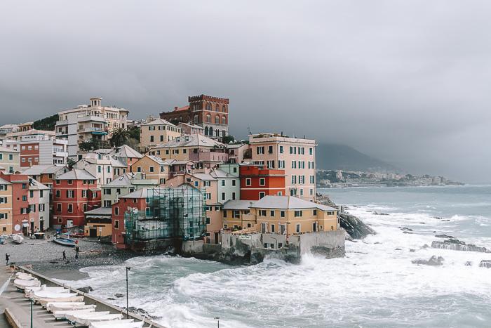 Panorama of Boccadasse, Genoa