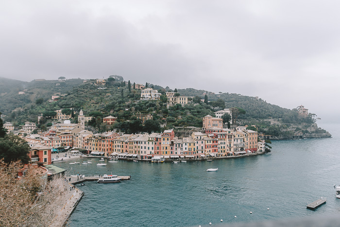 Panorama of Portofino, Liguria and Cinque Terre travel guide by Dancing the Earth
