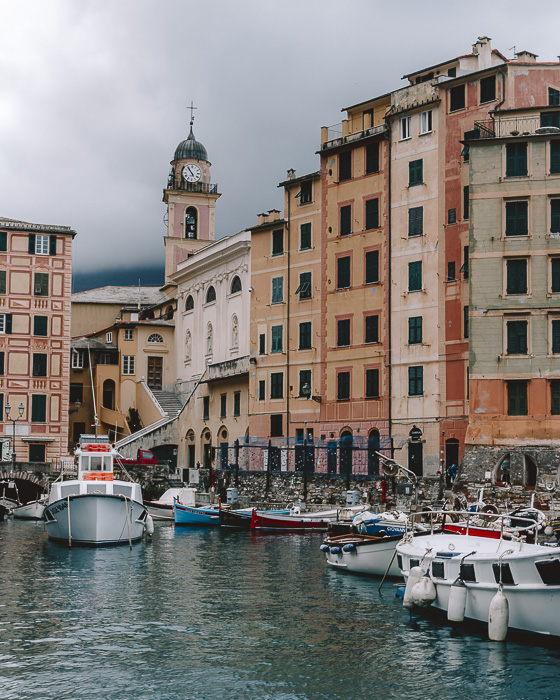 Leaving Camogli, Liguria and Cinque Terre travel guide by Dancing the Earth