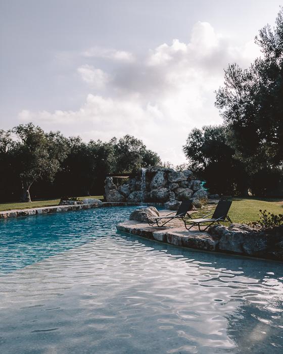 Pool of Masseria le Lamie