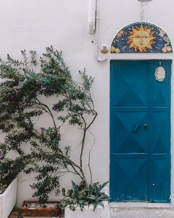 Door detail in Ostuni