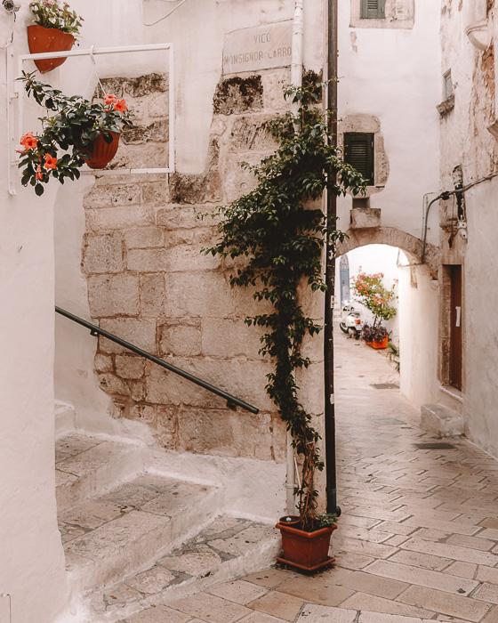 Cute corner and staiways in Ostuni