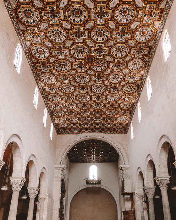 Inside the cathedral of Otranto, Puglia travel guide by Dancing the Earth