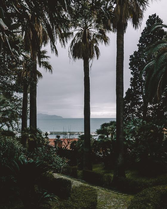 View from Villa Durazzo in Santa Margherita Ligure