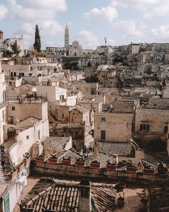 The sassi from the Belvedere, Matera, Puglia travel guide by Dancing the Earth
