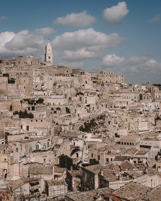 Sassi panorama, Matera