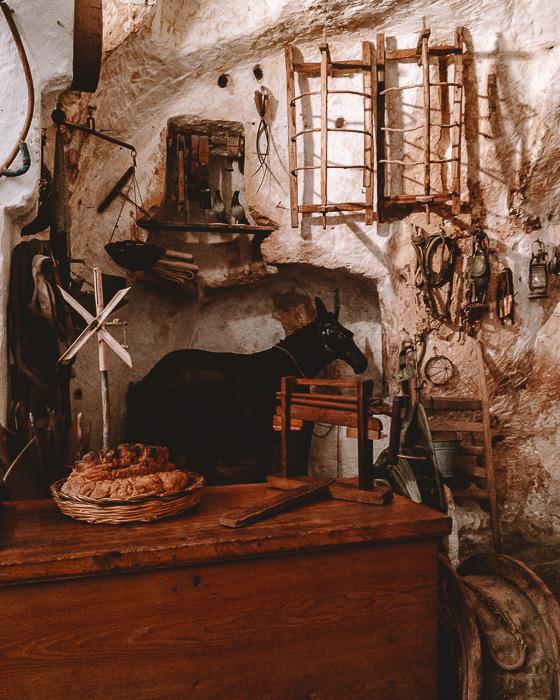 Casa Grotta in Sasso Caveoso, sheepfold, Matera