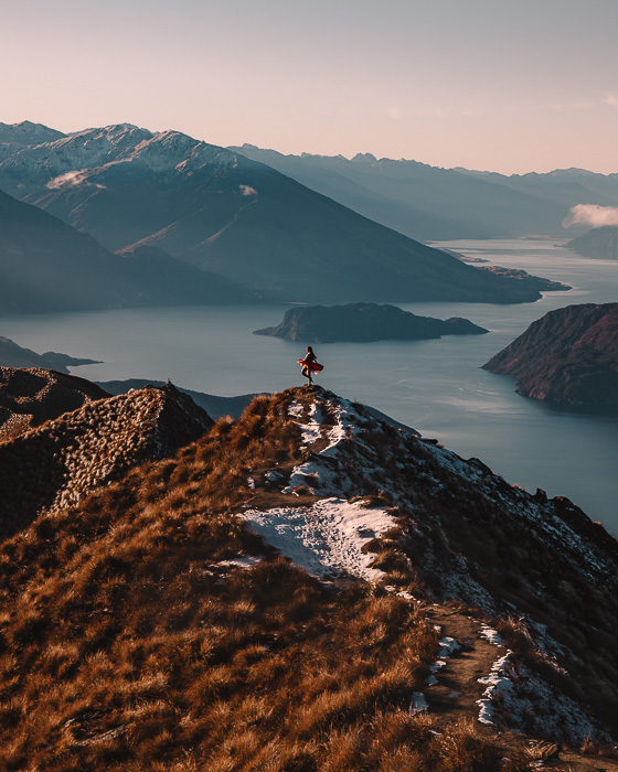 Roys Peak viewpoint, South Island, Dancing the Earth